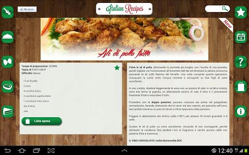 Ricette italiane ecco l 39 app per imparare a cucinare for Ricette italiane